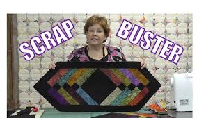 Scrap Buster! Make Easy Table Runner Using the Binding Tool! - YouTube & Make Easy Table Runner Using the Binding Tool! - YouTube Adamdwight.com
