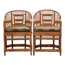 Vintage furniture images Danish 1950s Vintage Tortoise Shell Brighton Pavilion Chinoiserie Chairs Pair Diy Network Vintage Used Furniture For Sale Chairish