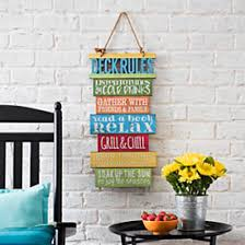 Outdoor wall art can be anything, from a painting to a vertical garden and a lot of other things. Outdoor Wall Decor Outdoor Art Kirklands
