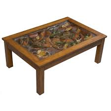coffee table top ideas trout stream diy furniture