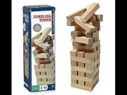 How To Play Tumbling Tower Wooden Block Game THE JUMBLING TOWER JENGA GAME YouTube 97