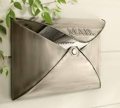 wall mount mailbox envelope. Wall Mount Mailbox Envelope Pottery Barn