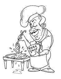 Small Picture Pizza Coloring Pages The Best Italian Food Gianfredanet