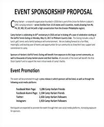 Example Of A Sponsorship Proposal Magnificent Individual Athlete Sponsorship Proposal Pitch Example Presentation