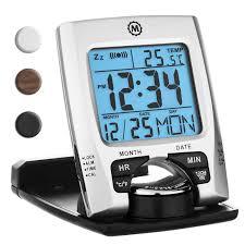 best overall marathon cl030023 travel alarm clock