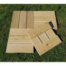 4 oak decking tiles from uk timber