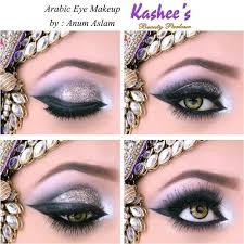 arabic eye makeup by anum aslam at kashee s beauty parlour