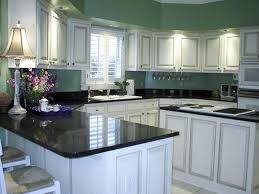 white kitchen cabinets with black countertops. White Kitchen Cabinets With Black Countertops Ctzijoti