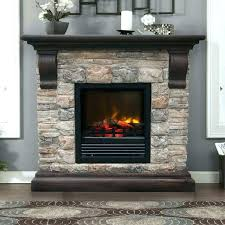 dimplex fieldstone rustic electric fireplace s doors
