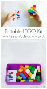 diy portable lego kit with free printable activity cards