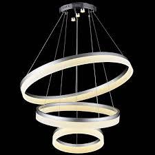 beautiful 40 best of 3 ring chandelier light and lighting 2018 for led modern chandelier