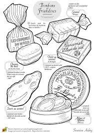 Coloriage Bonbon Et Sucreries Imprimer Sur Hugolescargot Com