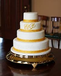 monogrammed wedding cakes. gold embossed monogram wedding cake wm monogrammed cakes
