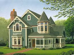 Victorian House Plans  The House Plan ShopVictorian Cottage Plans