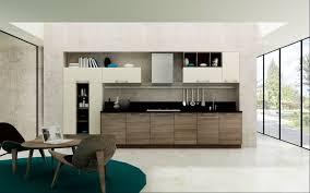 Huge Refrigerator Kitchen Gray Bar Stools Brown Wall Wine Racks Brown Modern