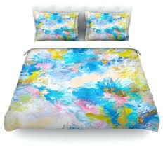 yellow duvet cover emporium when we were mermaids blue yellow duvet cover cotton yellow quilt cover