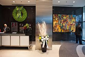 office holiday decor. grand ballroom holiday decorations office lobby decor phillips interior plants u0026 displays