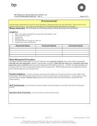 Project Specific Safety Plan Template – Mklaw