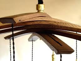 chelier ing wooden wine barrel chandelier rustic wood