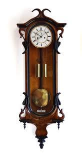 art nouveau vienna regulator wall clock