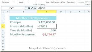 Excel Loan Calculator Formula Image Titled Calculate A Monthly ...