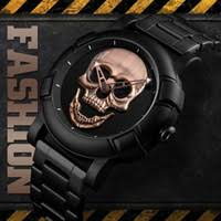 European And <b>American</b> Foreign Trade <b>Watch Personality</b> Skull ...