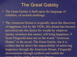 The Great Gatsby Failure Of American Dream Quotes Best Of F Scott Fitzgerald