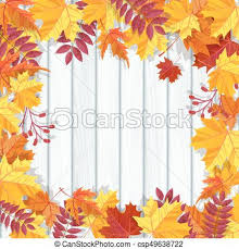 Fall Invitation Autumn Festival Background Invitation Banner With Fall Leaves Vector Illustration