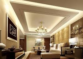 ceiling and lighting design. Suspended Ceiling- Living Room Design With Ceiling And Lighting