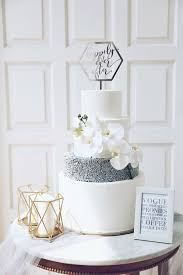 Simply Modern 4 Tiered Wedding Cake By Kaia Cakes Co Bridestorycom