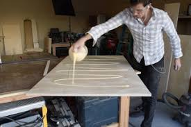 Create the table top base. Making High End Furniture From Plywood Diy Modern Dining Table 6 Steps With Pictures Instructables