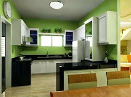 green wall paint kitchen green wall paint color for kitchen with white cabinet and black granite under flush mount ceiling light and round wall clock sage