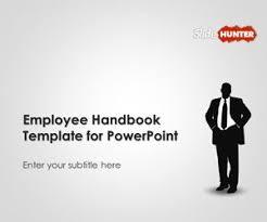 handbook template free employee handbook template for powerpoint free powerpoint