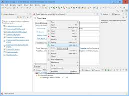 weic server 14 in eclipse ide for