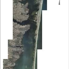 Barnegat Inlet Tide Chart 2016 Aerial View Of Barnegat Bay Showing The Extensive Flood