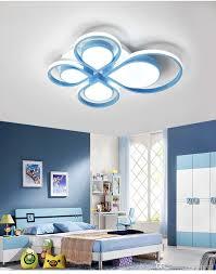 Led Ceiling Lights For Living Room 2019 Modern Blue Or Pink Led Ceiling Light Remote Control Light Fixture Living Room Illumination Kids Bedroom Lamp Novelty Luminaire From Topmeed