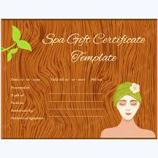 Gift Certificates For Your Business 5 Massage Gift Certificate Designs For Your Spa Business