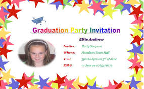 sample graduation invitations graduation invitation template