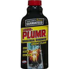 liquid plumr 17 oz industrial strength urgent clear