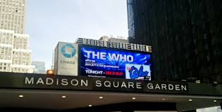 any madison square garden show is an event it has extra meaning being in the middle of a huge city of sound light and people it s full of and art