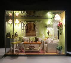 drawing room furniture images. K002 Miniatur DIY Kayu Rumah Boneka Parlor Drawing Room (furniture, Cahaya, Penutup Debu Furniture Images