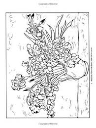 Small Picture VAN GOGH SUNFLOERS colouring pages Adult ColouringFlowers