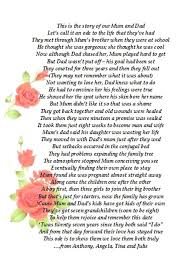 Thank You Poems For Parents On Wedding Day