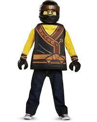 Child's Boys Classic LEGO® Ninjago Movie Black Ninja Cole Costume -  Walmart.com - Walmart.com