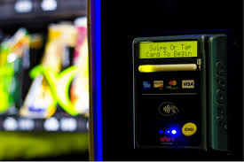 How To Use Credit Card Vending Machine Stunning Buying Chips With Credit NFC Invades The Break Room Qualcomm