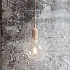 e27 pendant lamp in on