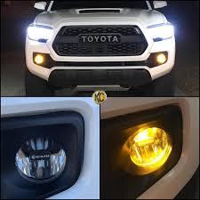 2019 Toyota Tacoma Led Fog Lights Fog Kits Baja Designs Vs Rigid Ind Page 2 Tacoma World