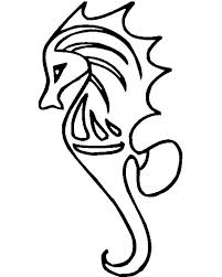 Small Picture Seahorse Coloring Page Ppinewsco