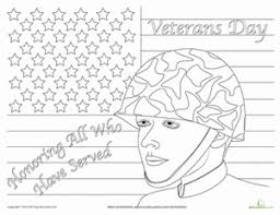 Small Picture Veterans Day Worksheet Educationcom