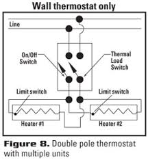 choose the right thermostat 3 Wire 240 Wiring Diagrams a wiring diagram illustrating typical wiring of the thermostat is included in literature provided with the thermostat, and on a simple diagram provided on
